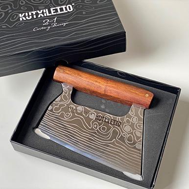 cuchillo kutxiletto madera en caja